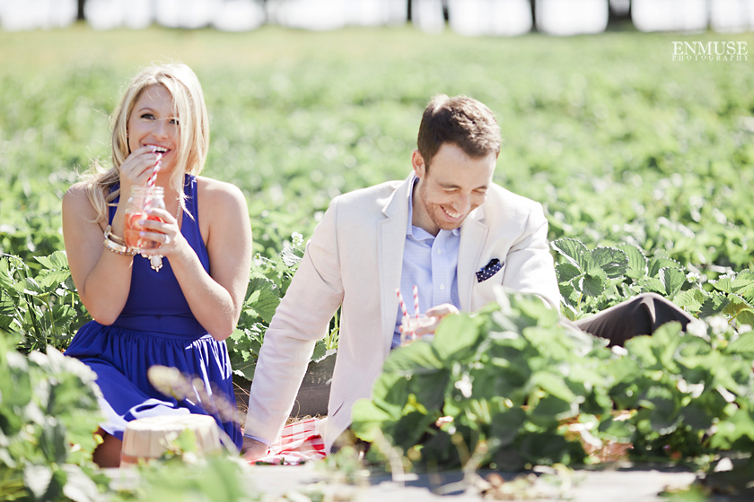 03 Strawberry Farm Engagement Session 0031