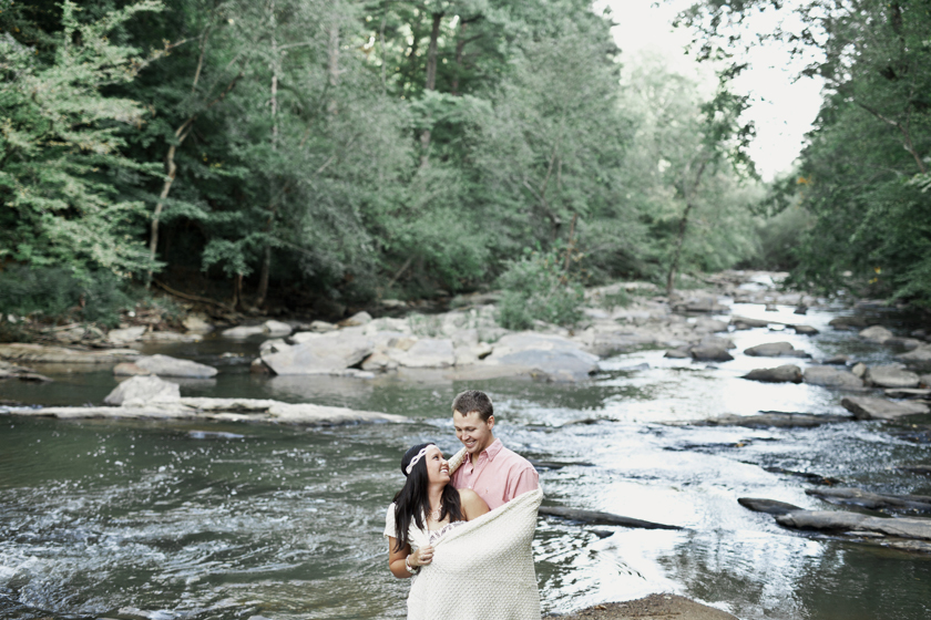 01 Roswell Mill Engagement Photographer 0095