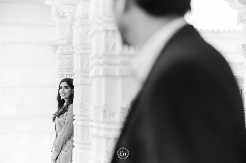 Top of the World : Ventanas & BAPS Engagement Photography